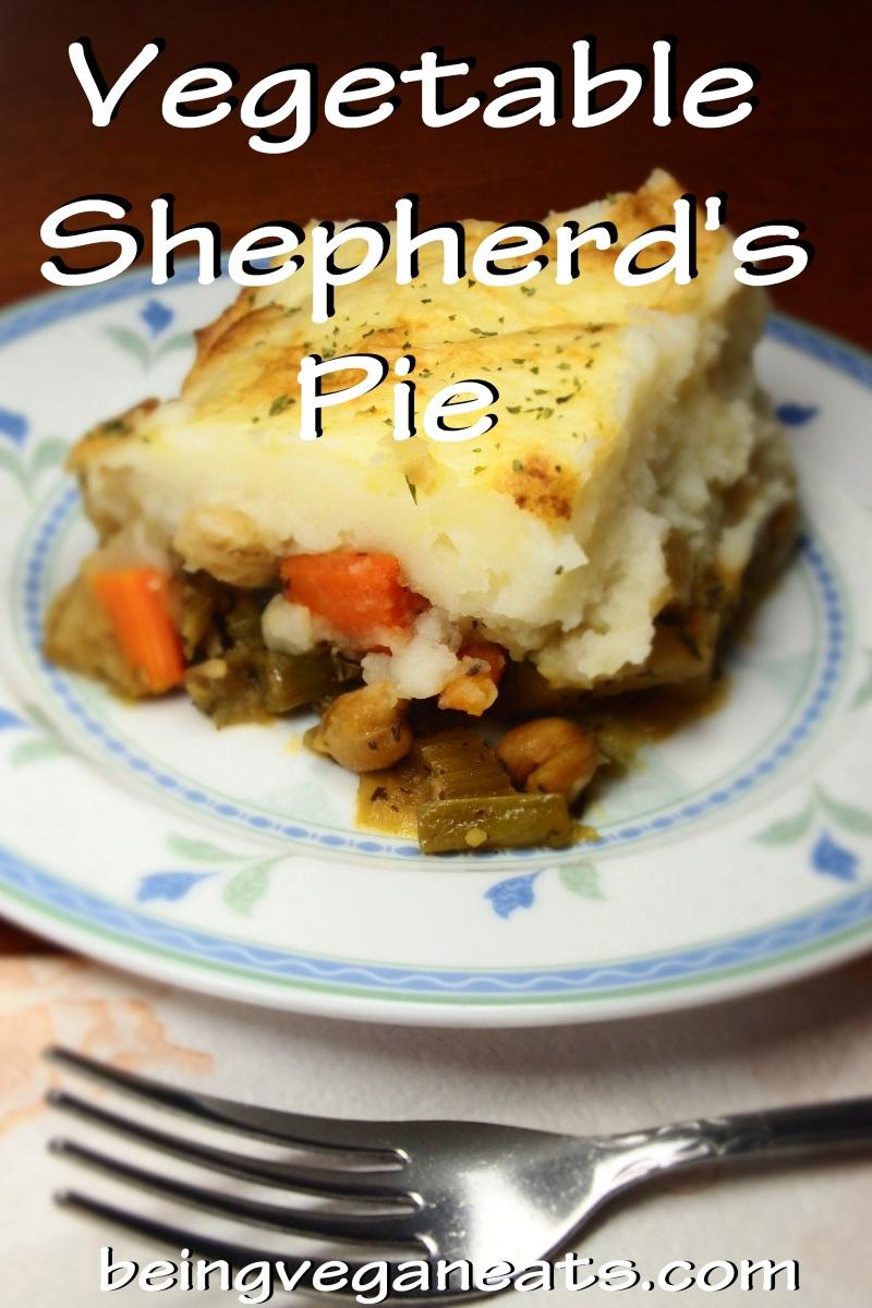 Vegetable Shepherd's Pie | Being Vegan Eats